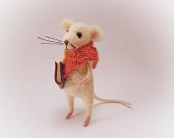 Mouse, Mouse doll, Doll, Felt, Felt mouse, Felt doll,Stuffed toys, Stuffed mouse, Rat