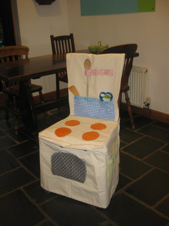 Fabric Cooker, Role play chair cover, Space saving