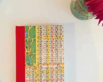 New York City Transit  Vintage Map Journal, Medium, Lined,