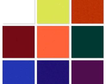 Handmade encaustic paints primary palette - nine 30ml paint cubes
