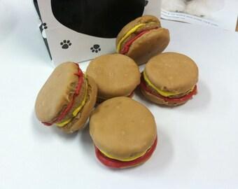 Hamburger Gourmet Dog Treats 4-Pack