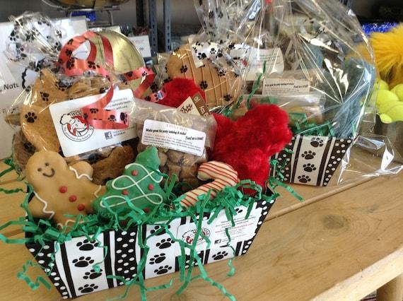 Etsy Dog Gift Baskets : Large dog gift basket gourmet treats