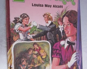 1982 LITTLE WOMEN Louisa May Alcott Large Pictorial Children's Book