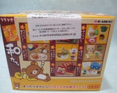 Re-ment Miniature Rilakkuma Mattari Japanese Cafe Full Set 8 Kawaii Collection