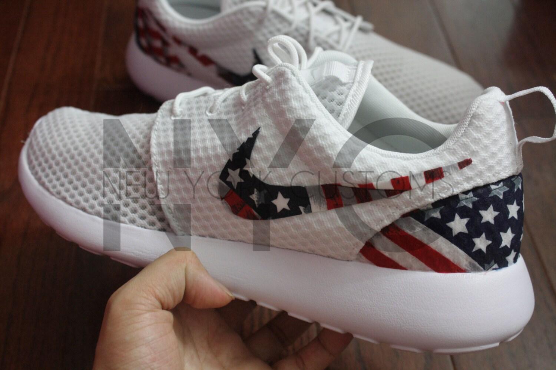 ... nike roshe run american flag pride custom ...