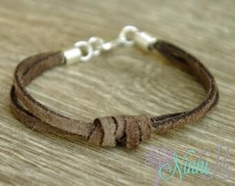 Leather Bracelet,Boys bracelet,  adult bracelet,toddler bracelet,baby bracelet, baby boy bracelet, boy jewelry, girl jewelery  17 COLORS