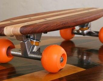Wood skateboard