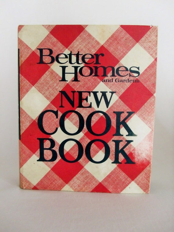 Better homes and gardens new cookbook 1968 edition 3rd - Better homes and gardens cookbook 1968 ...