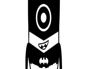 Batman Minion SVG File