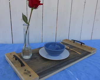 Upcycled Pallet Serving Tray