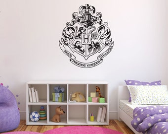 Harry Potter Hogwarts Crest Wall Decal