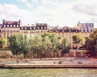 Paris buildings, Paris photo, Paris architecture, home decor, Paris decor, Paris river, Paris Wall Art, French Architecture