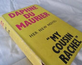 1st edition book - My cousin rachel - Daphne du maurier - classic book vintage book - vintage library decor - scarce book