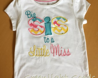 Big Sister to Little Sister Shirt