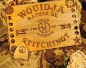 Ouija Board Thread Keep/Needle Minder Set