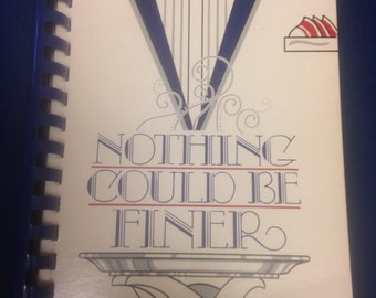 Nothing Could Be Finer Cookbook by Junior League of Wilmington NC-Great Christmas Gift