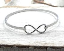 Infinity Bracelet in Stainless Steel