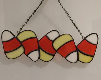 Stained Glass Candy Corn, Halloween Candy Corn, Candy Corn