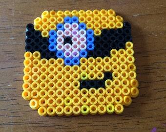 Minion Perler Bead Magnet