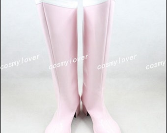 Sailor Moon Chibi Usa Custom Made Cosplay Boots/Shoes