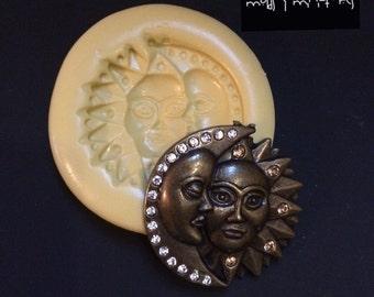 Moon & Sun Silicone Mold
