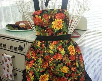 Girls autumn apron