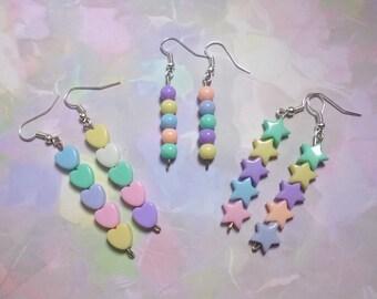 Fairy Kei Pastel Earrings
