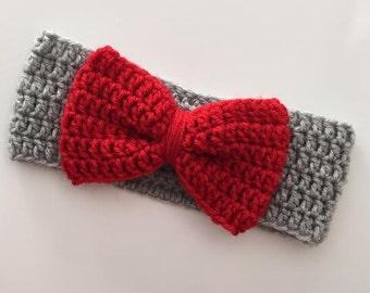 Ohio State Crochet Blanket With Crocheted Block O Osu