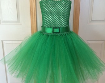 Disgust Inspired Tutu/Inside Out Costume/Inside Out Character Tutu/Halloween Costume/Disgust Tutu