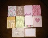 Project Life cards, 3x4 cards, assorted cards, project life, journaling, scrapbooking, scrapbook, snail mail, stationery, filler cards,