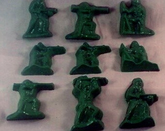 Chocolate Army Men
