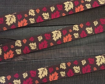 Fall Ribbon, Fall Leaves