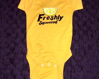 Freshley Squeezed Infany Onesie