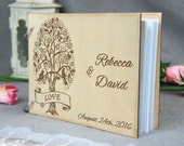 Etsy Wedding Gift For Husband : Unique personalized Wedding-Anniversary-Bridal shower guest book, Gift ...