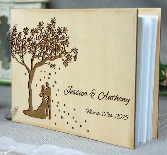 Wedding Memory Book Ideas: Personalized Wedding-Anniversary-Bridal Shower Guest Book