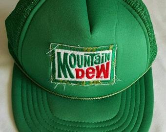 Mountain Dew Snapback Hat