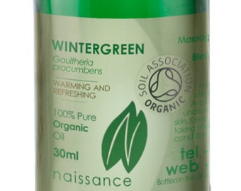 Wintergreen Organic Essential Oil
