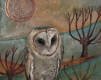 Spirit Owl Giclee Print