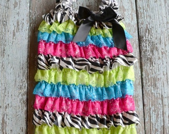 Petti Romper with Ribbon bow.