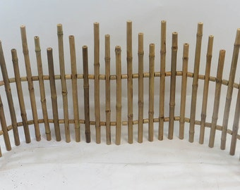 Bamboo Picket Fence,  5'L x 2'H, NBF-24