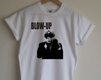 Blow Up T-shirt - Cult 1960's Film, All Sizes & Various Colours