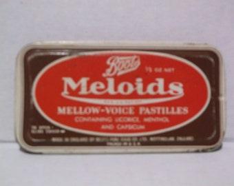 Boots MELOIDS Mellow-Voice Pastilles