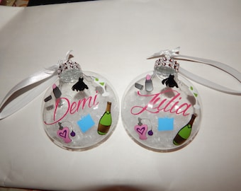 Personalized Girls night out ornament