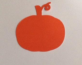 """2"""" Halloween Pumpkin Die cuts"""