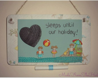 Holiday Countdown Plaques