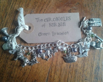The Chronicles of Narnia inspired Charm Bracelet