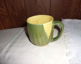 Vintage Shawnee Corn King Mugs