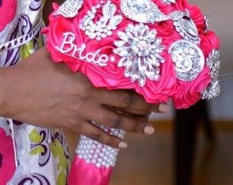 Heirloom Brooch Wedding Bridal Bouquet