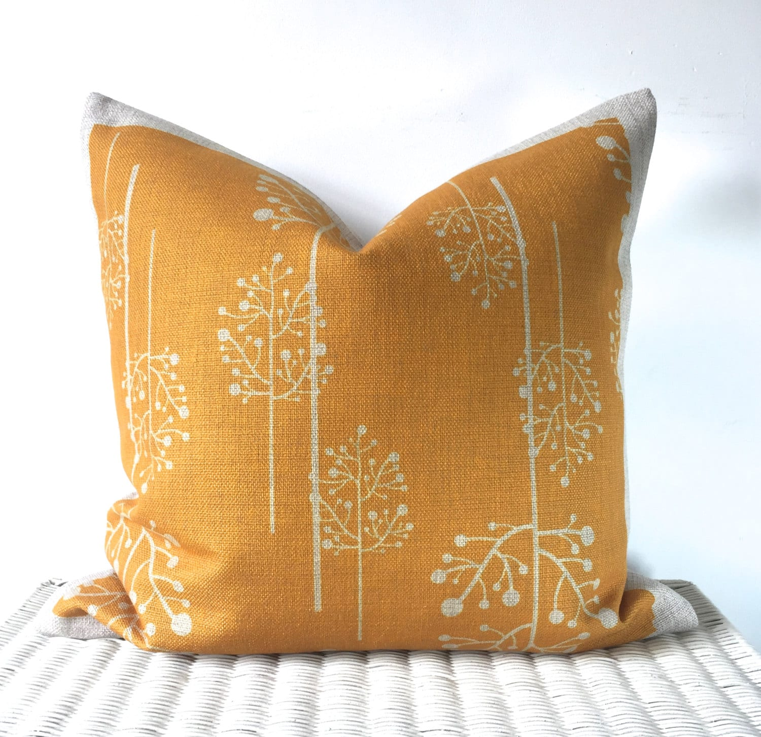 mustard cushion cover yellow pillow mustard throw pillow. Black Bedroom Furniture Sets. Home Design Ideas