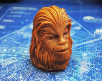 Handmade Large 3D Chewbacca, Chewie Soap – Star Wars, Christmas gift, stocking gift, Novelty